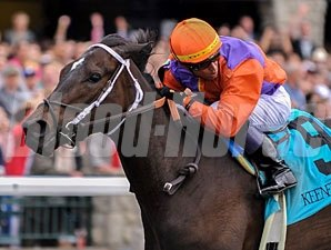 Treasured Up in race 7 at Keeneland 4/14/2012.
