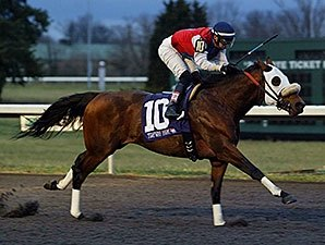 Cyber Secret Sets Turfway Mark in Stakes Win