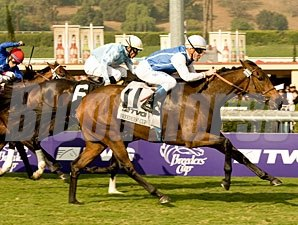 Goldikova wins the 2009 Breeders' Cup Mile