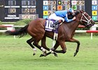 Blind Date Rallies To Score In Virginia Oaks