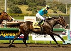 Pioneerof the Nile Rolls at Santa Anita
