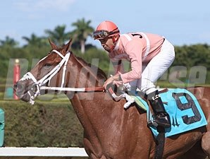 Flying Trip wins the 2010 Cassidy.