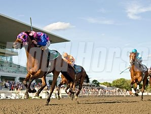 Big Looie wins the 2010 Springfield Stakes.