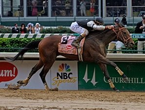 Derby Winner Mine That Bird Sent to Lukas