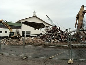 Pinnacle Begins Demolition of River Downs