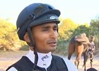 South Africa - Jockey Karis Teetan