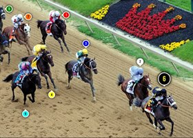 2013 Preakness Stakes Race Sequence