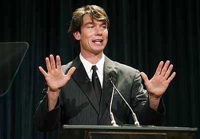 Jerry O'Connell was the master of ceremonies at the 36th annual Eclipse Awards in Beverly Hills.
