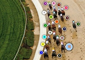 2013 Kentucky Derby Race Sequence