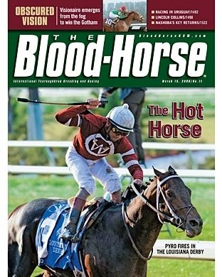 The Blood-Horse: 03/15/2008 issue