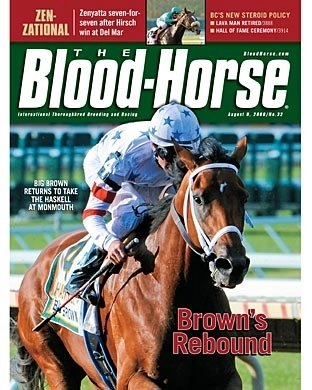 The Blood-Horse: 08/09/2008 issue