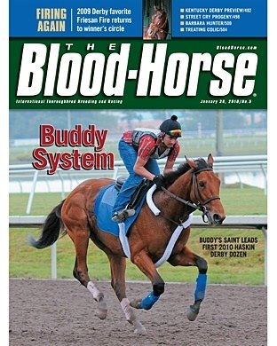 The Blood-Horse: 1/30/2010 issue