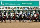 Churchill Opens With Purse Hike, Large Fields