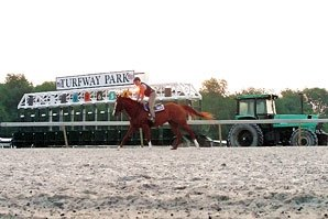 Turfway Begins Racing Surface Improvements