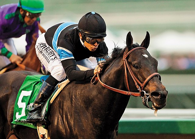 The showdown everyone wanted to see produced a clear verdict for Shared Belief over reigning Horse of the Year California Chrome in the $500,000 Grade II San Antonio Invitational Stakes at Santa Anita Park.
