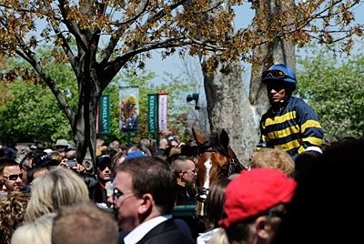 A sure sign of Spring - the crowds return to Keeneland.