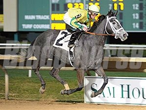 Promise Me Silver wins the 2015 Two Altazano Stakes.