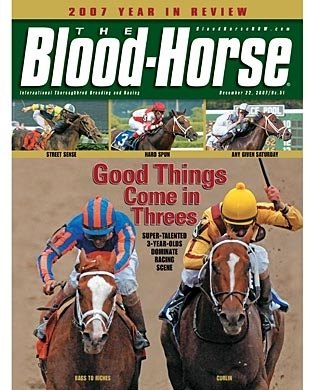 The Blood-Horse: 12/22/2007 issue