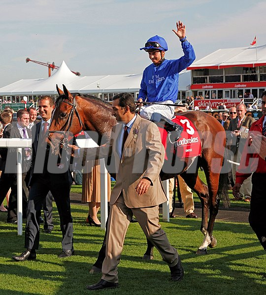 Racing from Doncaster, 15/9/12. Ladbrokes St. Leger.
