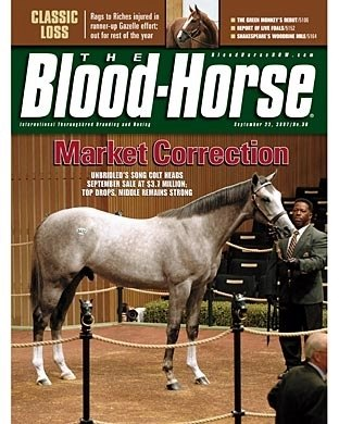 The Blood-Horse: 9/22/2007 issue