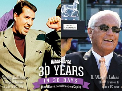 30 In 30 Oldest Youngest Trainers Bloodhorse