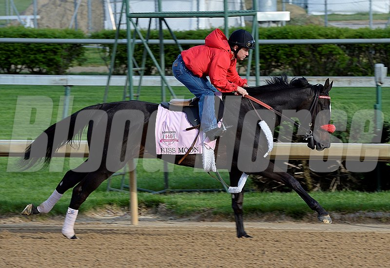 Caption: Kiss Moon starting work