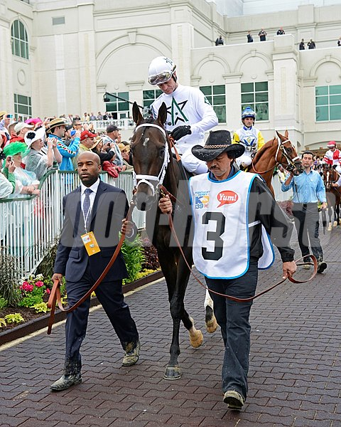 Revolutionary in the paddock.