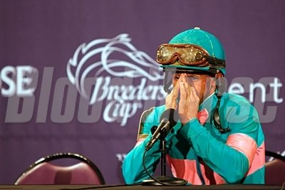 Mike Smith reflects on the race and his feelings at the post race press conference.