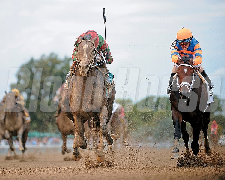 Flat Out wins the Jockey Club Gold Cup Stakes (gr. 1)