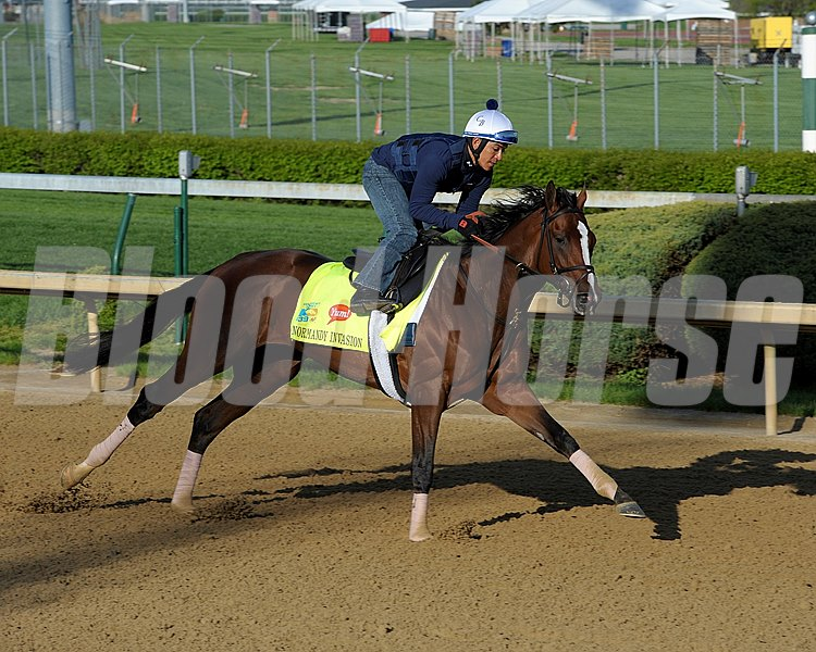 Caption: Normandy Invasion