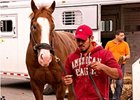 Lukas' Preakness Trio Arrives at Pimlico