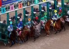 2015 Florida Derby Race Sequence