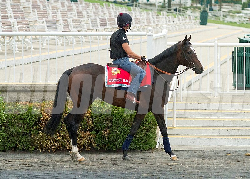 Wigmore Hall work out session at Arlington Park on August 15, 2012