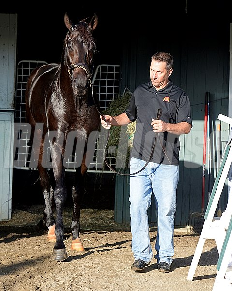 Caption:  Kelly Breen with Pants on Fire