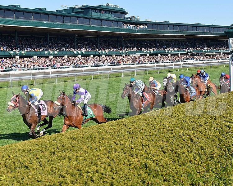 It was a big weekend of racing at Keeneland Race Course in Lexington, Kentucky.