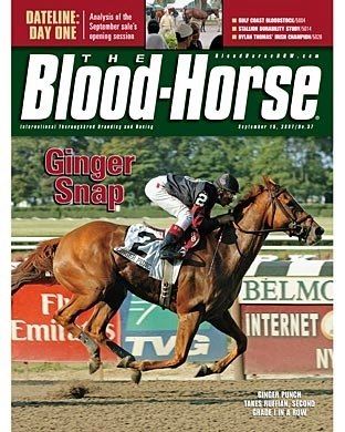 The Blood-Horse: 9/15/2007 issue