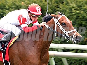 Kitten's Queen wins an Allowance at Keeneland on April 9, 2015.