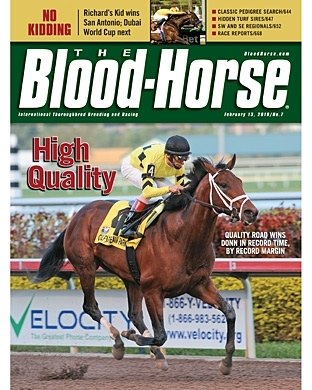 The Blood-Horse: 2/13/2010 issue