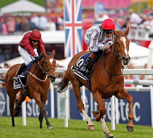 Talent wins the 2013 Epsom Oaks from Secret Gesture