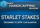 That Handicapping Show: The Starlet