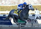 Frosted Hits Sweet Spot in Wood Memorial Win