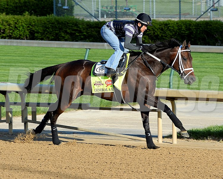 Caption: General A Rod with Joel Barrientos up