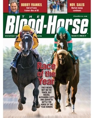 11/21/2009: Race of the Year, Rachel Alexandra and Zenyatta Battle for Horse of the Year Honors