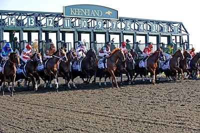 And they're off at Keeneland!