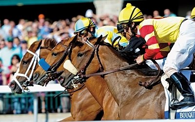 The Blood-Horse Out of the Gate for April 16, 2011: Lilacs and Lace win the 2011 Ashland Stakes.