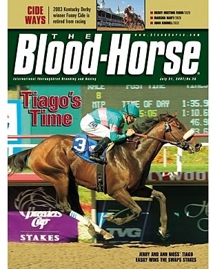 The Blood-Horse: July 21, 2007 issue.