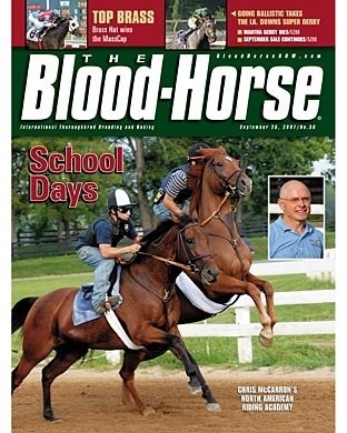 The Blood-Horse: 9/29/2007 issue
