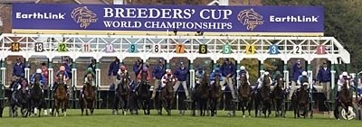 Off in the2006 Breeders' Cup Mile.