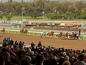 Santa Anita Showing Across-the-Board Gains