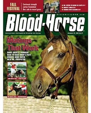 The Blood-Horse: 11/24/2007 issue